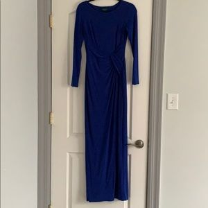 Ralph Lauren Blue Gown